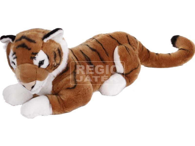 Tigris fekvő plüssfigura - 75 cm