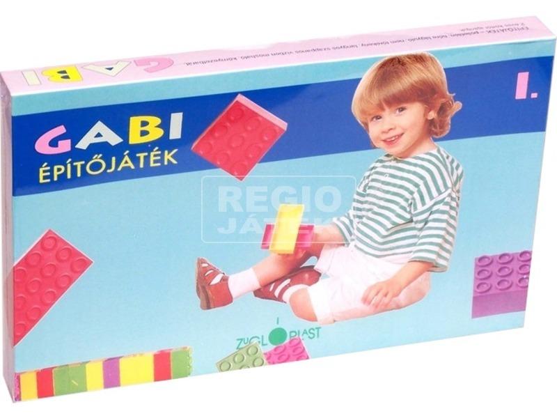 Gabi 1 műanyag 30 darabos építőjáték
