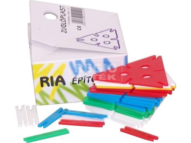 Ria műanyag 40 darabos építőjáték
