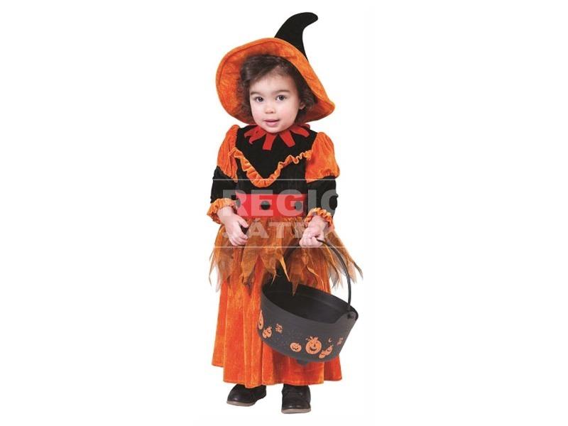 Halloween boszi jelmez - 104 cm-es méret