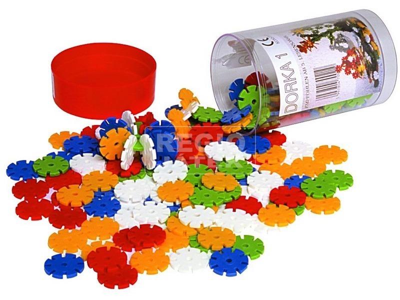 Dorka 1 műanyag 156 darabos építőjáték
