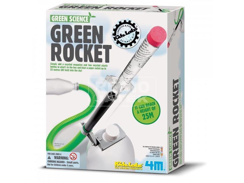 4M zöld rakéta készlet
