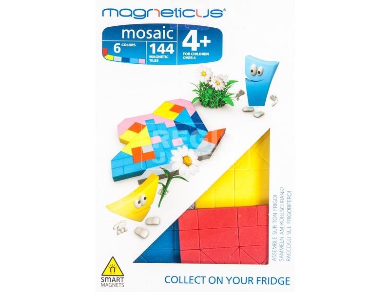 Lepkés mágneses 144 darabos képkirakó