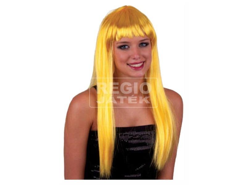 Hosszú haj paróka - arany, univerzális méret