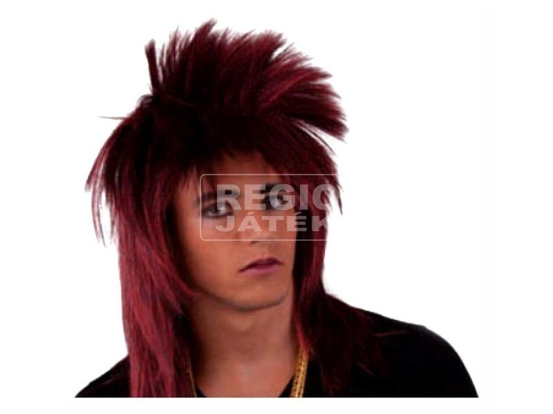 Punk paróka - vörös, univerzális méret