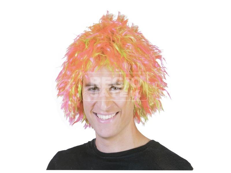 Bohóc paróka - neon színek, univerzális méret