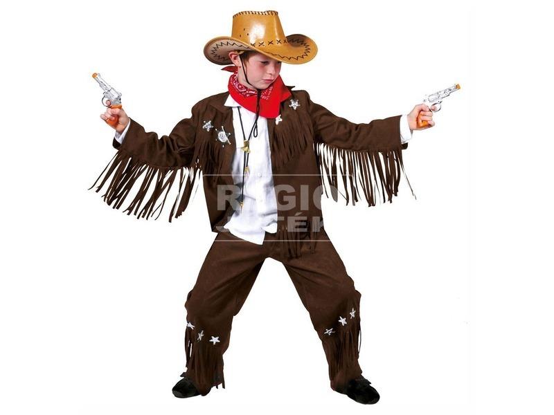 Cowboy jelmez - 140-es méret