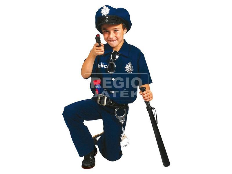 Rendőr jelmez - 140 cm-es méret