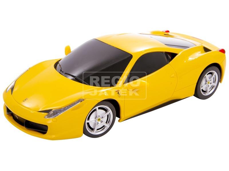Távirányítós Ferrari 458 Italia - 1:24, többféle