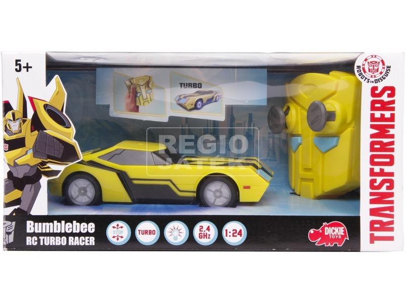 Transformers Bumblebee távirányítós autó - 18 cm