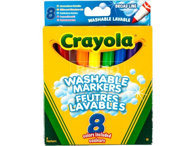 Crayola: 8 darabos vastag táblafilc