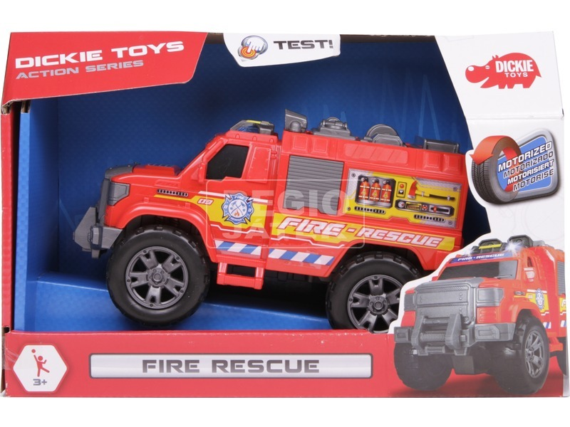 Dickie Fire Rescue tűzoltóautó - 20 cm