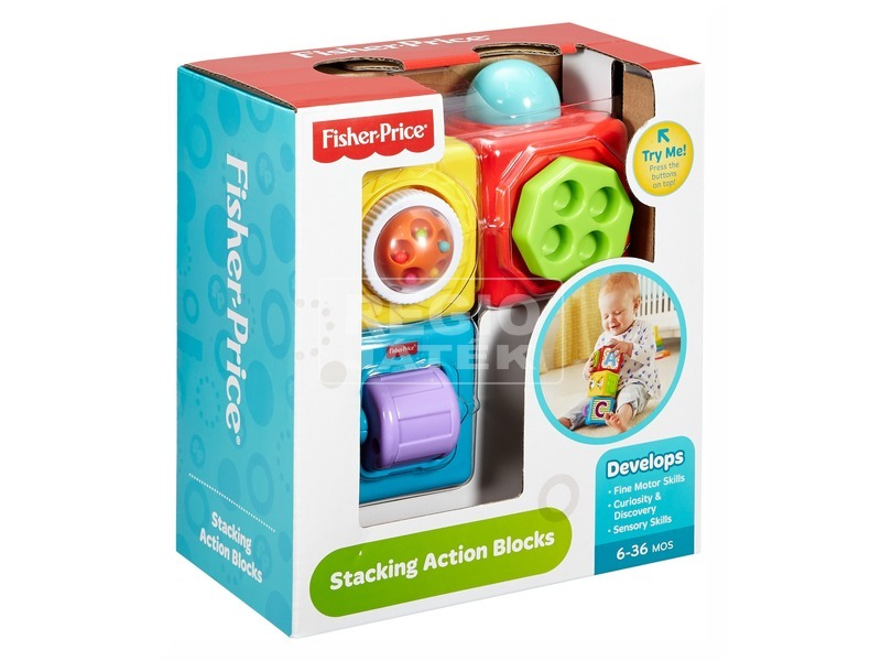Fisher-Price mókakockák