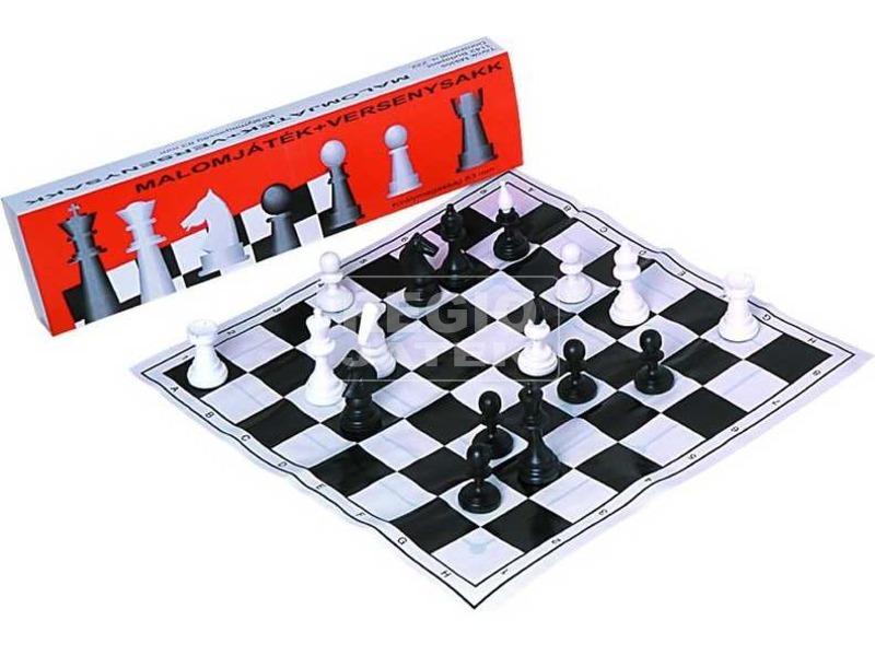 Sakk és malom társasjáték készlet