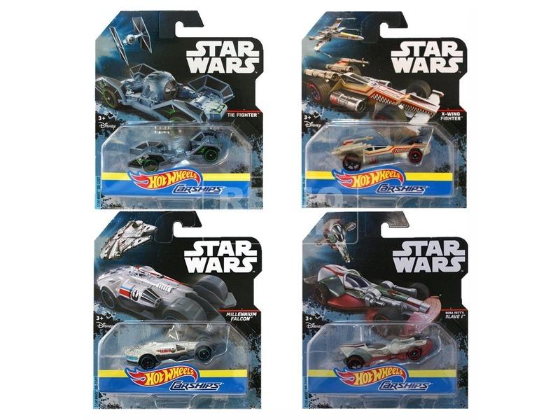 Star Wars: Hot Wheels autóhajó - többféle