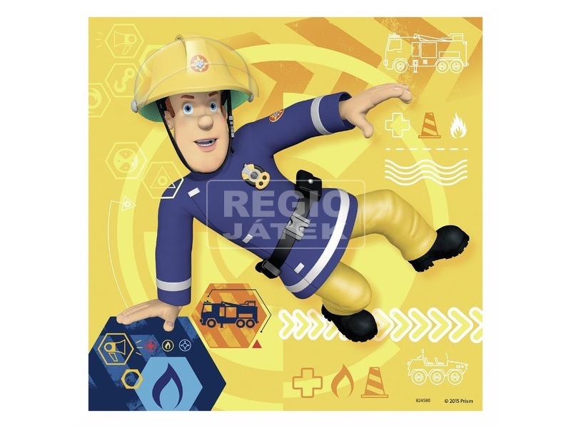 kép nagyítása Puzzle 3x49 db - Sam a tűzoltó