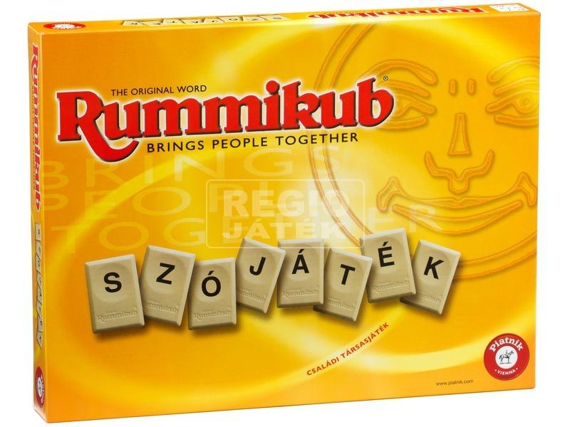 Rummikub betűjáték társasjáték