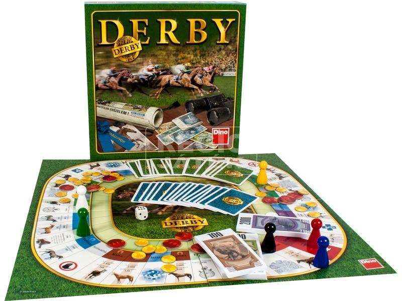 Derby - Fogadás a lovakra társasjáték