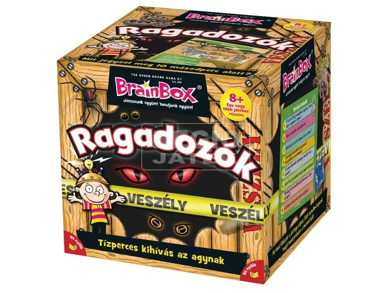 BrainBox - Ragadozók társasjáték