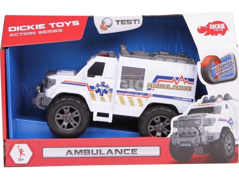 Dickie Ambulance mentőautó - 20 cm