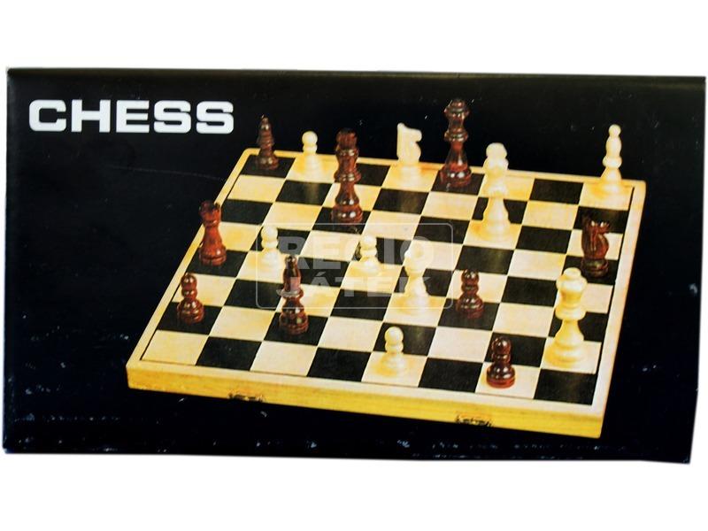 kép nagyítása Fa sakk készlet