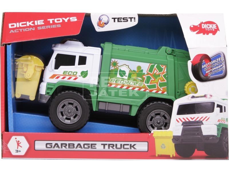 Dickie Garbage Truck kukásautó - 20 cm
