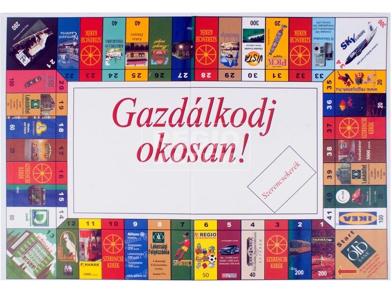 kép nagyítása Gazdálkodj okosan társasjáték - eurós változat