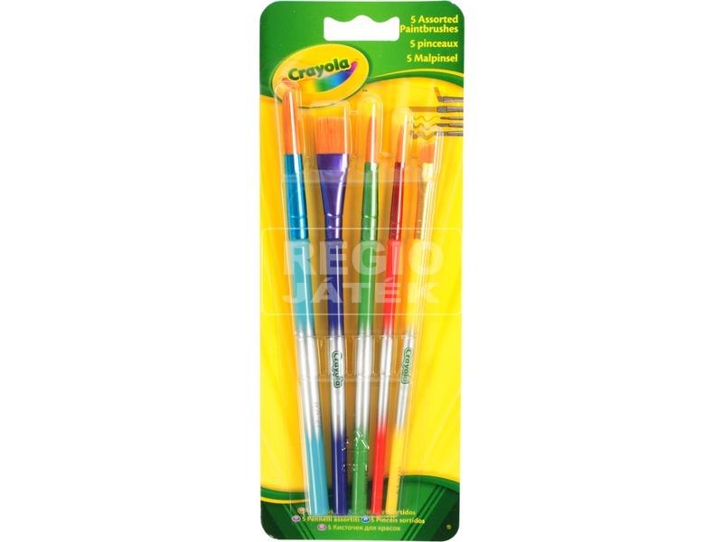Crayola: 5 darabos ecset