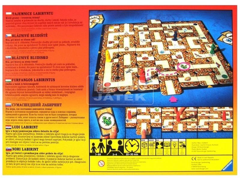 kép nagyítása Furfangos labirintus társasjáték