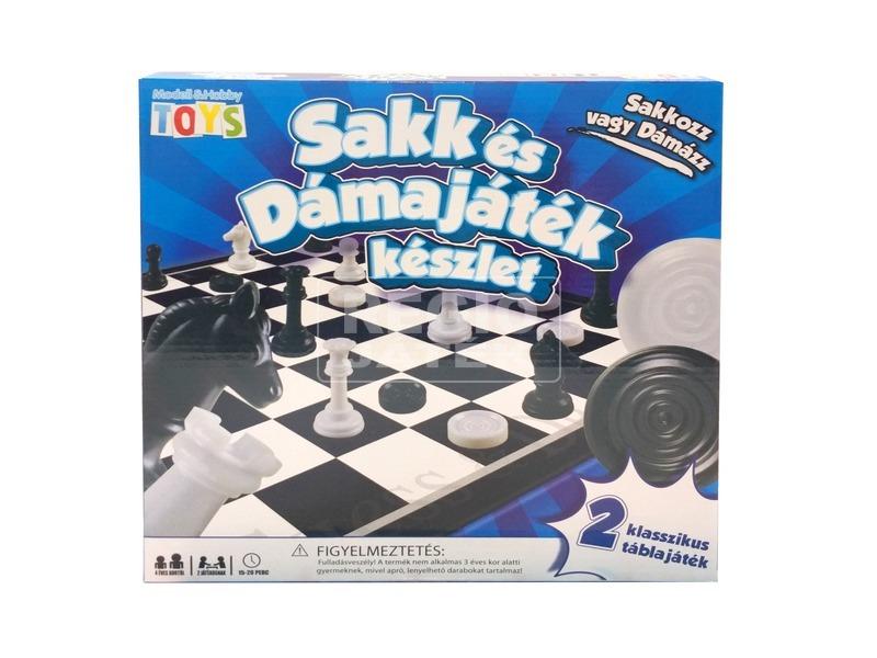 Sakk és dáma társasjáték