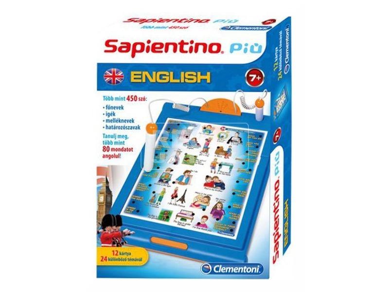 Sapientino játékos angol oktatójáték