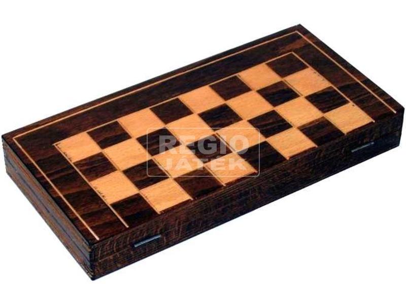 Fa sakk készlet - kicsi