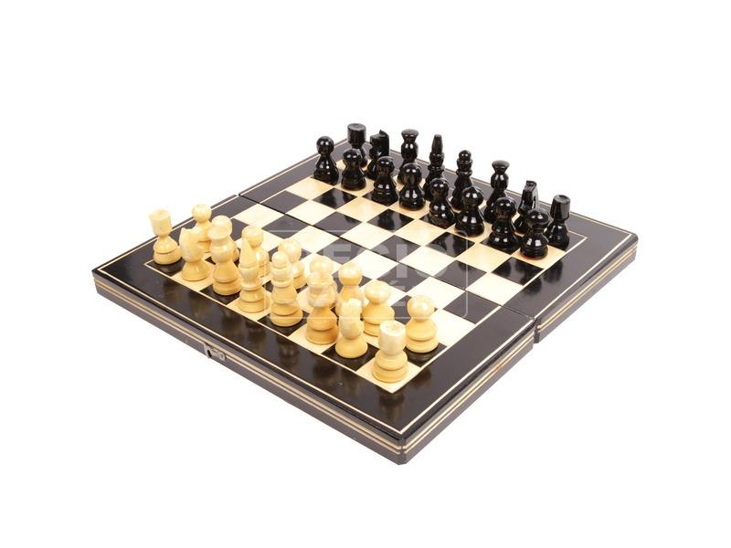 Fa sakk készlet - közepes