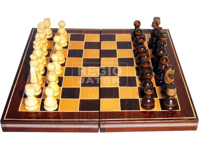 Fa sakk készlet - nagy