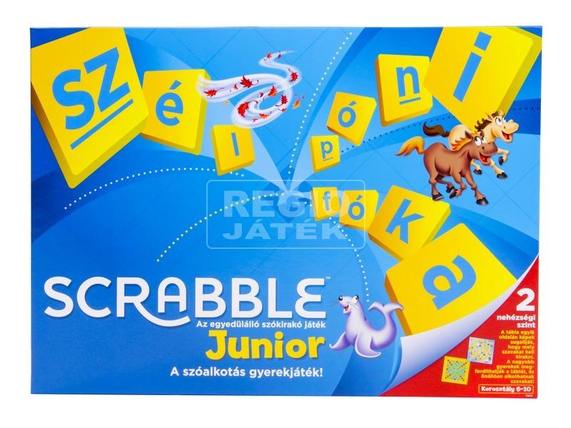 kép nagyítása Scrabble Junior társasjáték