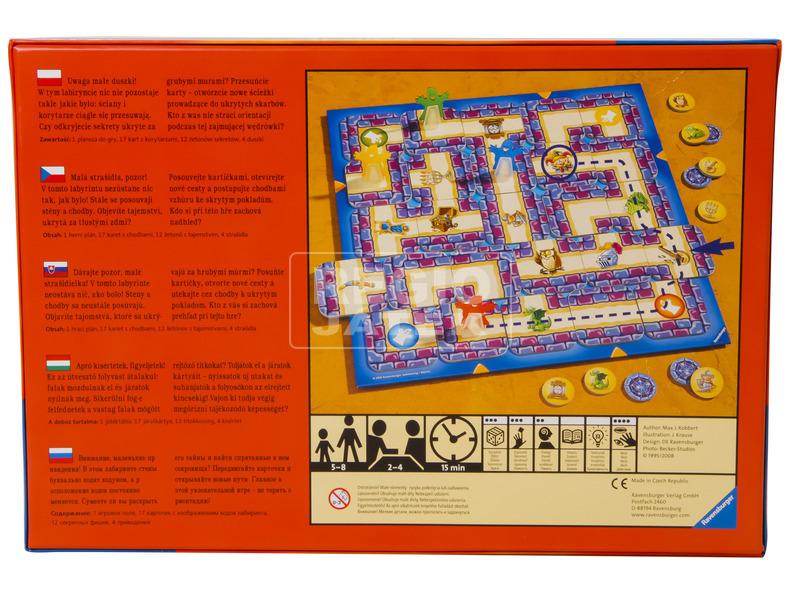 kép nagyítása Junior Labirintus társasjáték