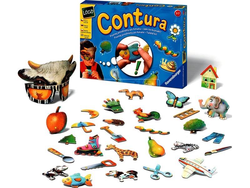 Contura formafelismerő társasjáték