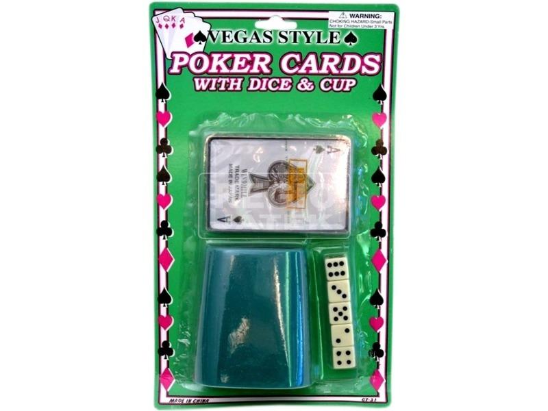 Kockapóker lapon