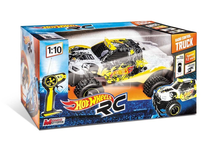 Távirányítós autó, 1:10, Hot wheels - Monster
