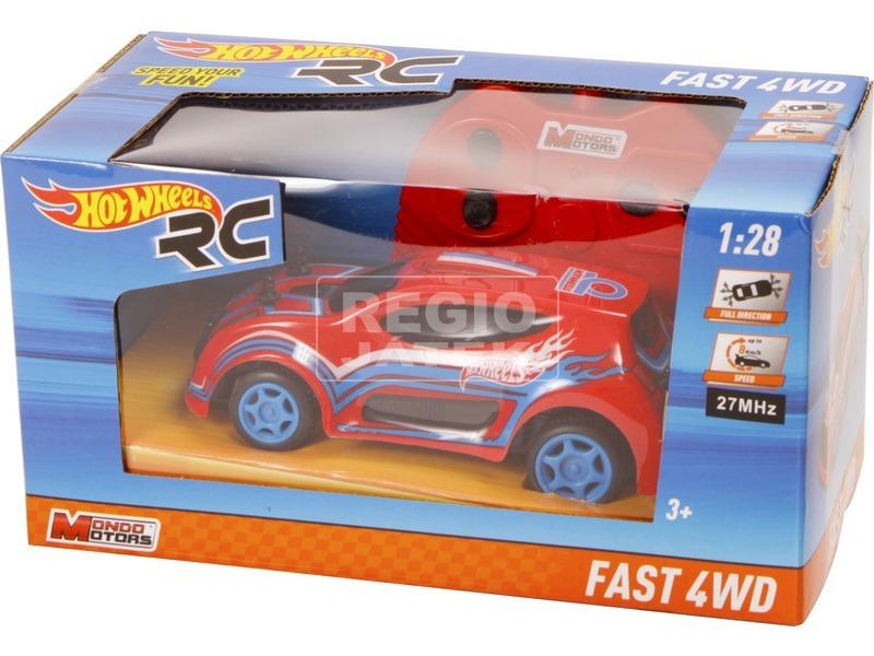 Távirányítós autó, 1:28, Hot wheels - 8 féle