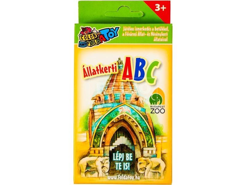Budapesti állatkert ABC kártya