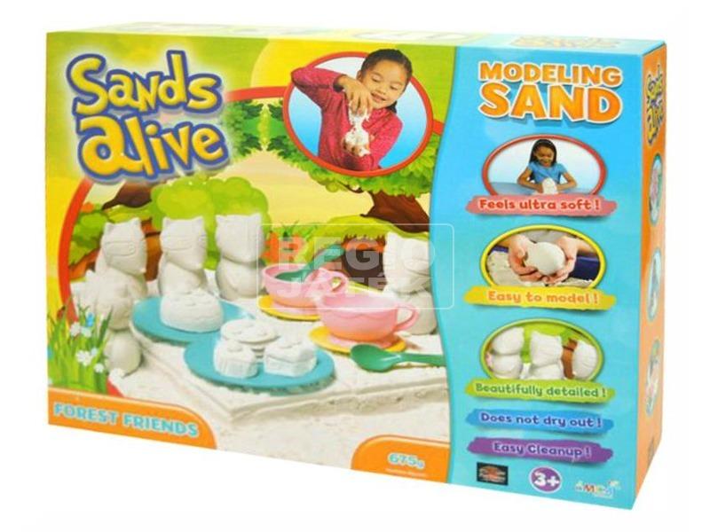 Sands Alive intelligens homok tea parti