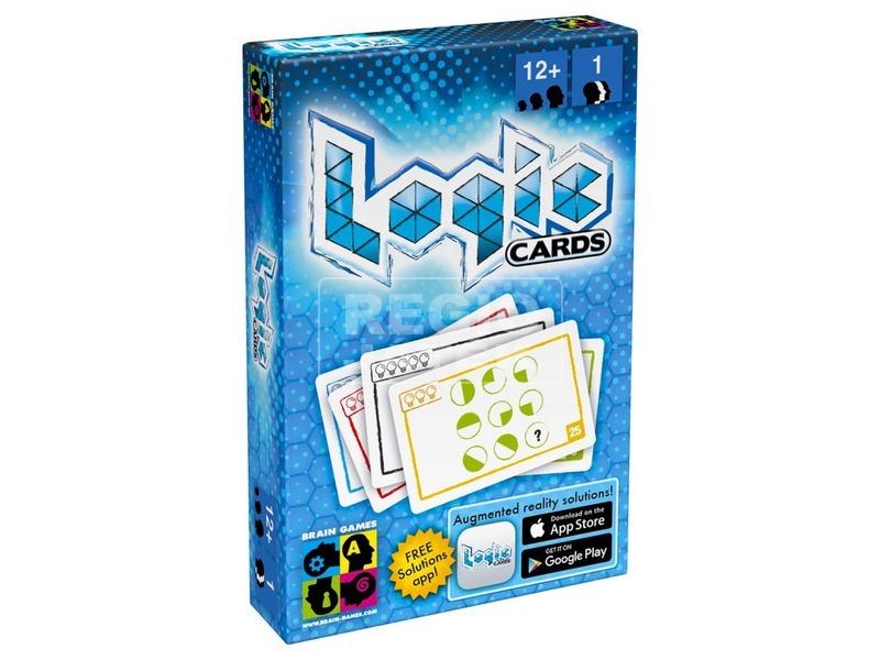 Logic Cards logikai játék - kék