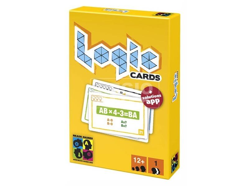 Logic Cards logikai játék - sárga