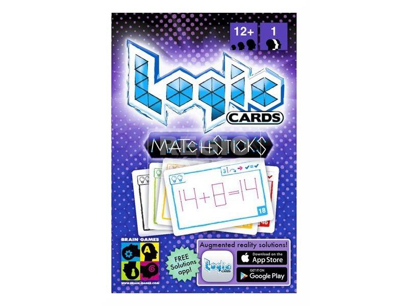 Logic Cards Matchsticks logikai játék