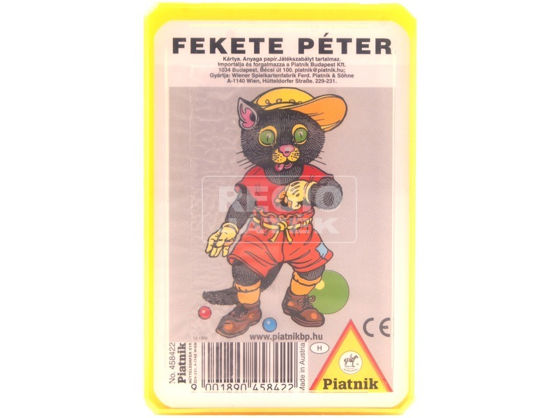 Fekete Péter gyerekvilág kártya