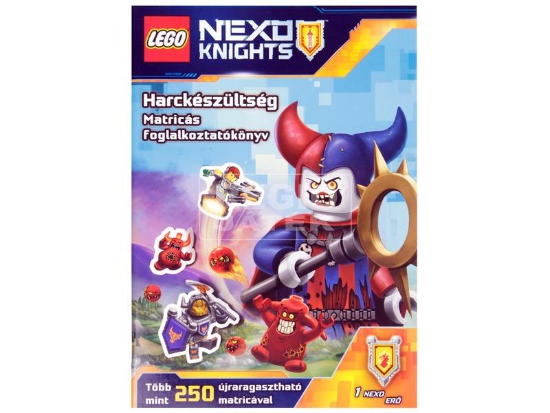 LEGO® Nexo Knights Harckészültség - matricás foglalkoztató