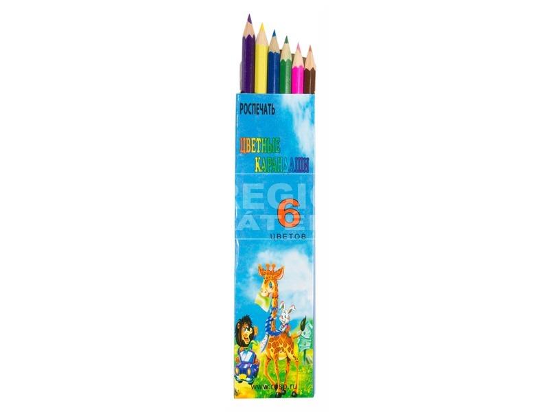 Színes ceruza 6 darabos készlet