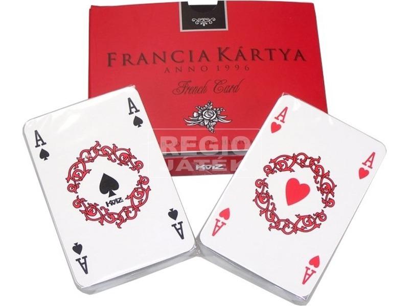 Dobozos 2 x 55 lapos francia kártya