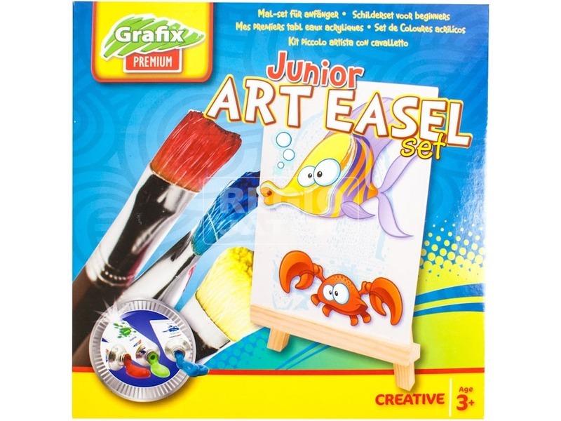 Grafix junior festőkészlet vászonnal